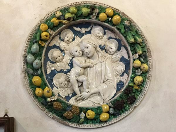 デッラ・ロッビア工房《聖母子》