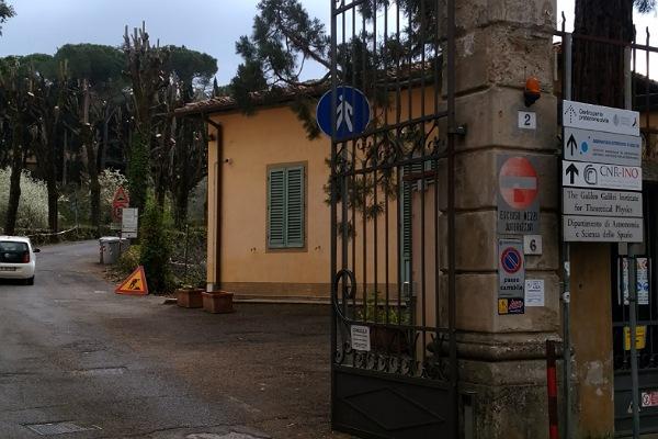 アルチェートリ天文観測所入口