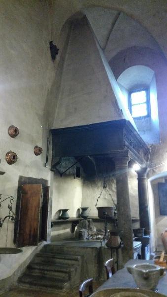 修道院の調理場