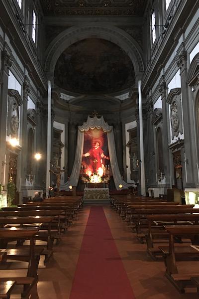 聖フィリッポ・ネーリ教会内部