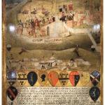 1489年コッレ・ディ・ヴァル・デルサの戦いの絵のビッケルナ